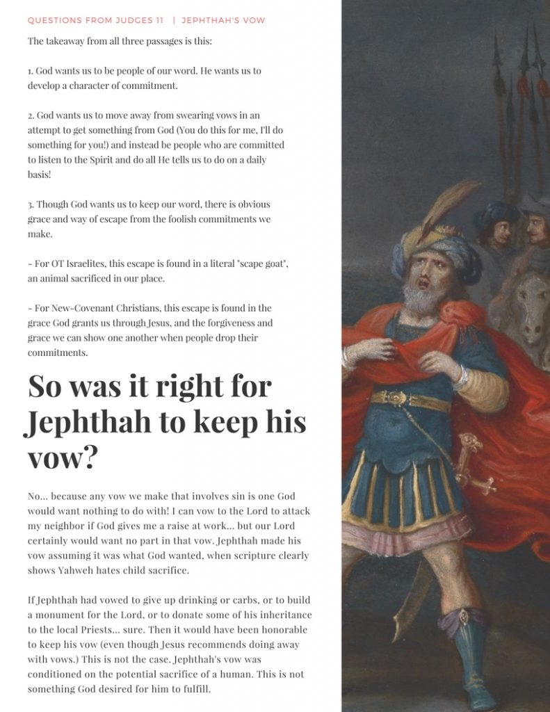 Study Guide – Jepthah – Hesed Creative